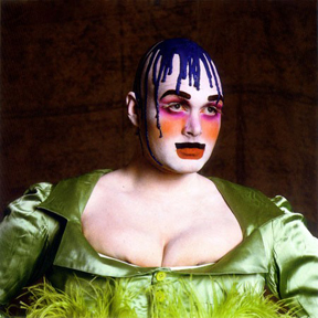 LEIGH BOWERY LOOKS Session 1/Look 2, November 1988 © Fergus Greer