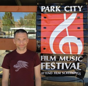 Director Broderick Fox at the Park City Film Music Festival where THE SKIN I'M IN was a finalist for BEST DOCUMENTARY SCORE.