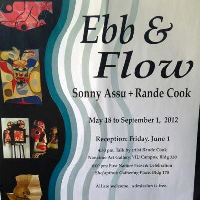Ebb & Flow at Nanaimo Gallery