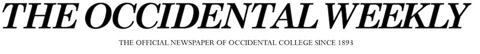 BANNER THE OCCIDENTAL WEEKLY