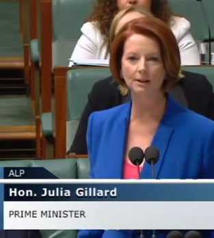Julia Gillard on ABC